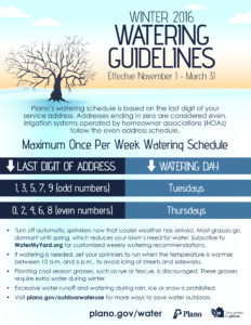 Winter 2016-2017 Watering Guidelines 2016_FINAL
